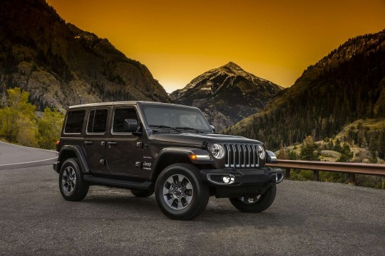 Jeep Wrangler Hard Top Diesel