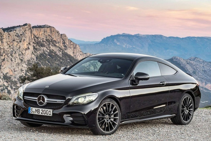 Mercedes-Benz C Class Coupe C180 Amg Line Premium 2dr 9g-tronic For Lease