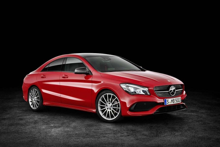 Mercedes-Benz Cla Class Diesel Coupe Cla 220d Amg Line Night Edt 4matic 4dr Tip Auto