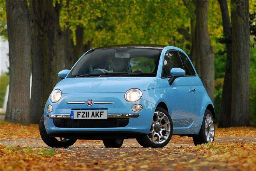 Fiat 500 Hatchback 1.2 Lounge 3dr [start Stop]